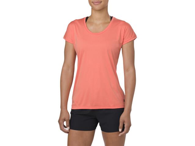 asics Capsleeve Top Koszulka do biegania z krótkim rękawem Kobiety różowy